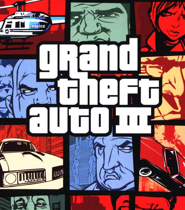 Grand Theft Auto 3 Box Art