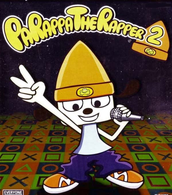 PaRappaTheRapper 2 Box Art