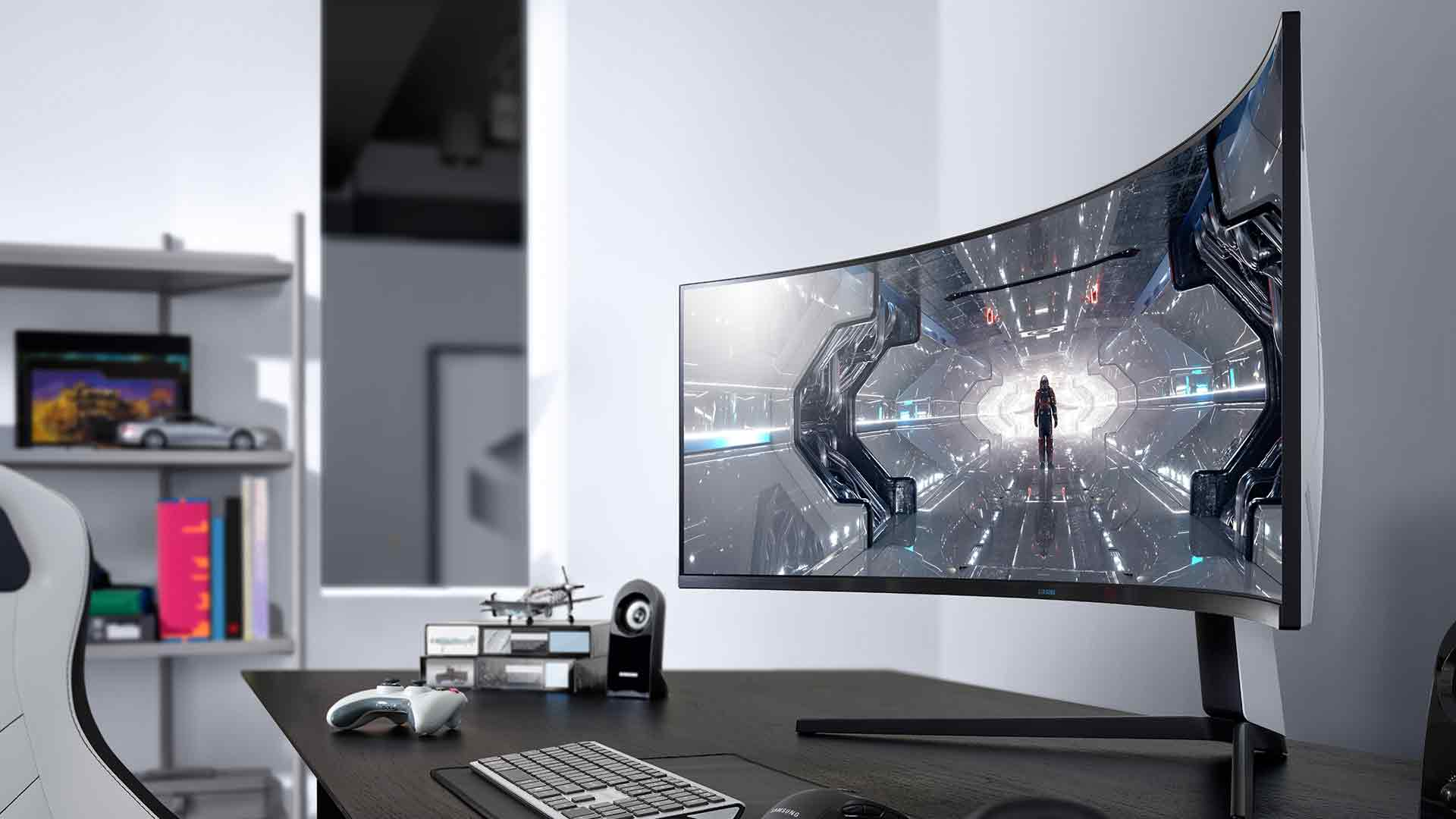 Samsung Odyssey Gaming Monitor Line-Up G9 & G7 CES