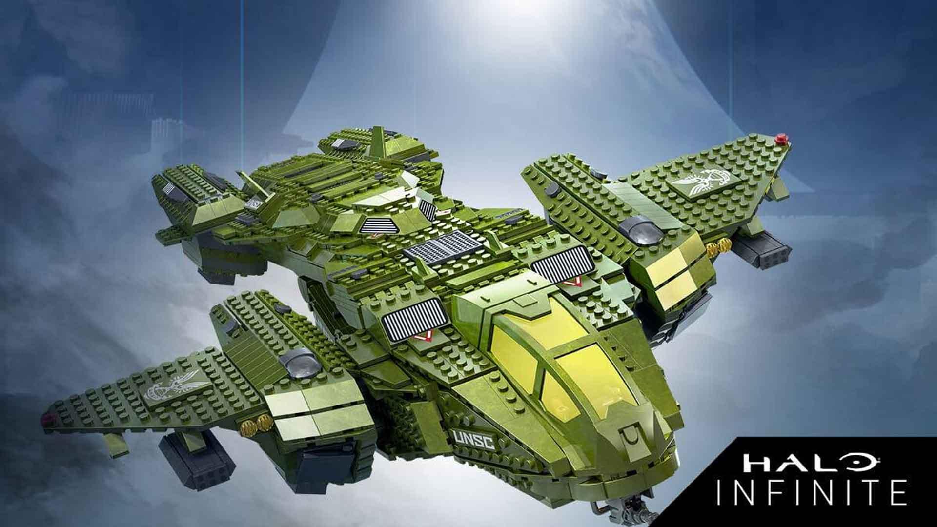 Mega Construx Halo Infinite Pelican