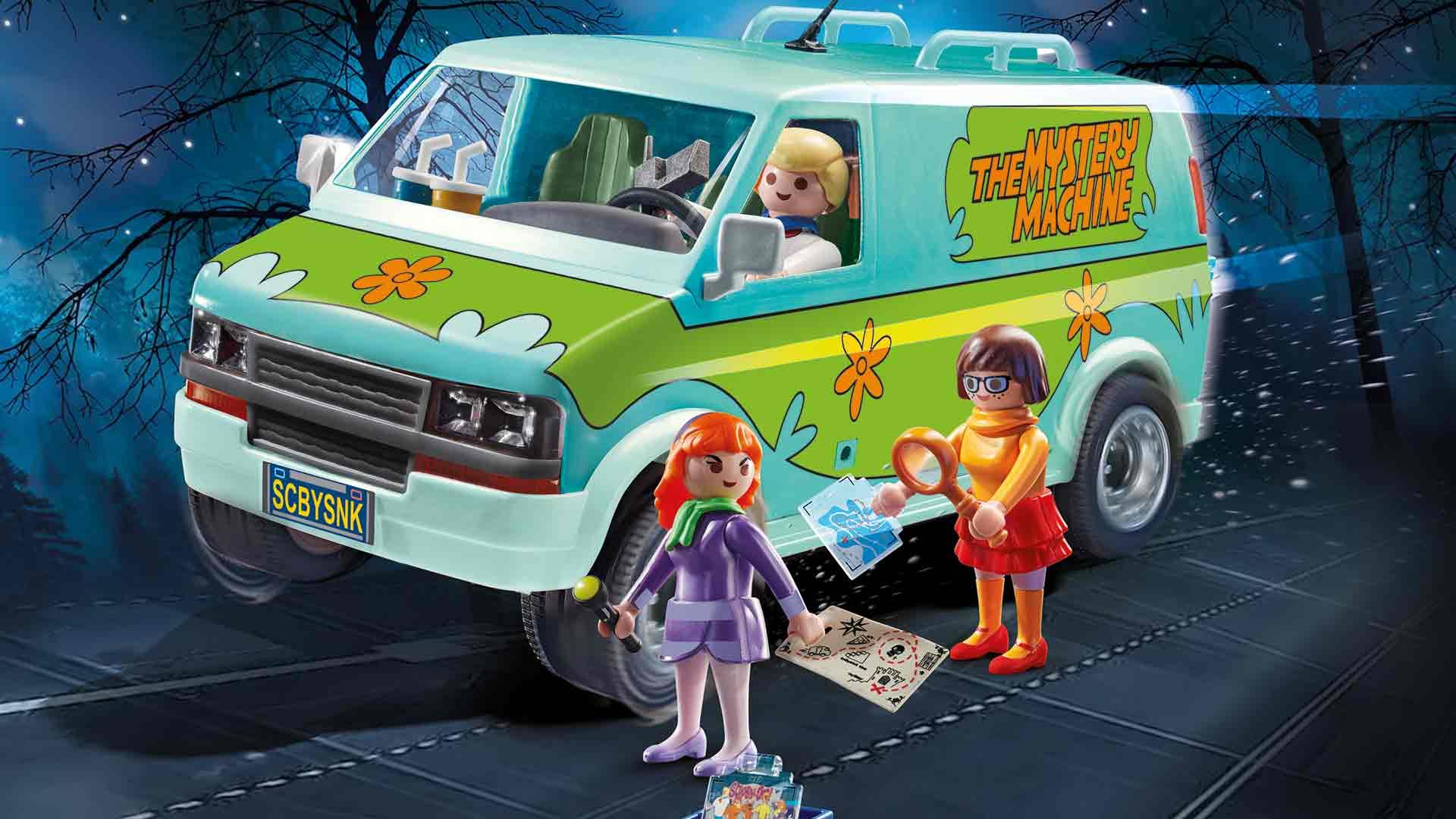 Playmobil Scooby-Doo Mystery Machine