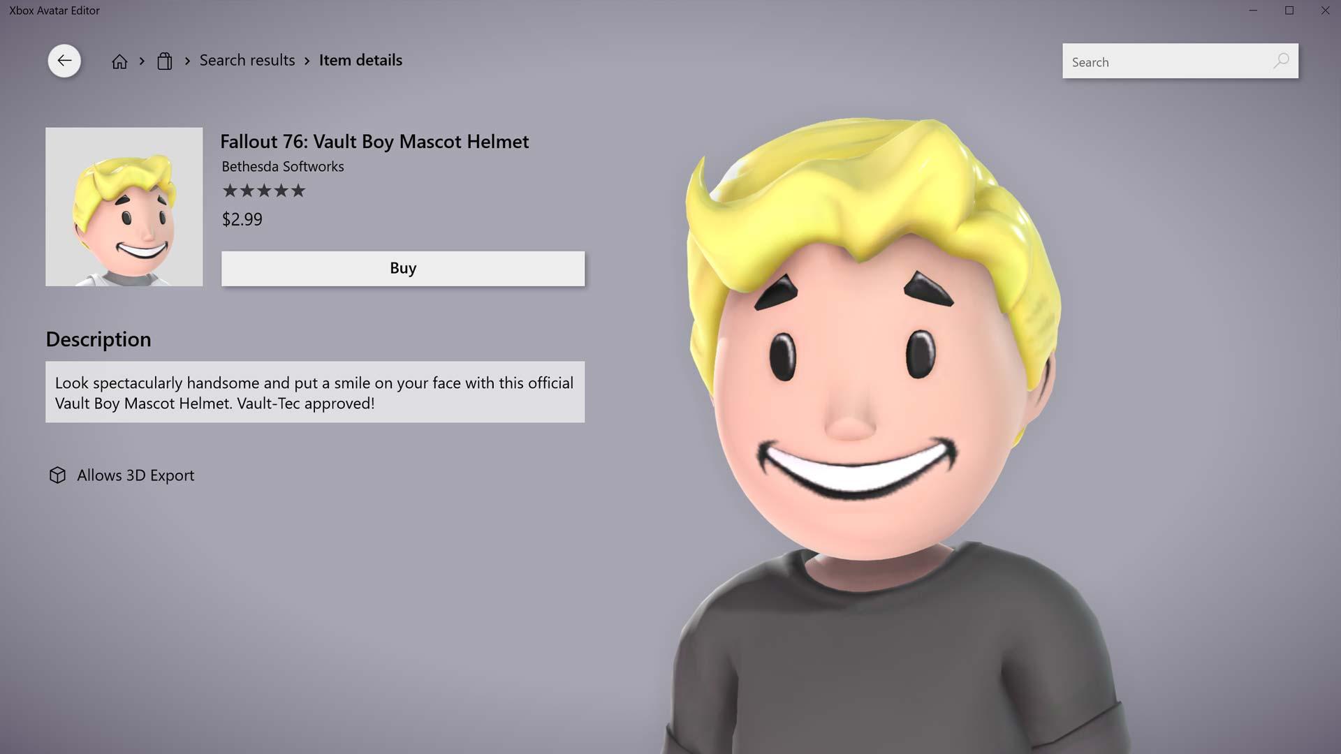 Fallout 76 Vault Boy Mascot Helmet Gamerheadquarters